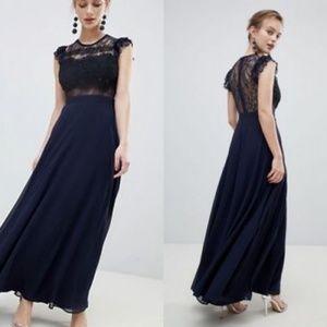 5587bfa3cfa ASOS Dresses - SALE ASOS Lace Maxi Dress with Lace Frill Sleeve O